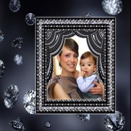 Diamond Photo Frames & Editor