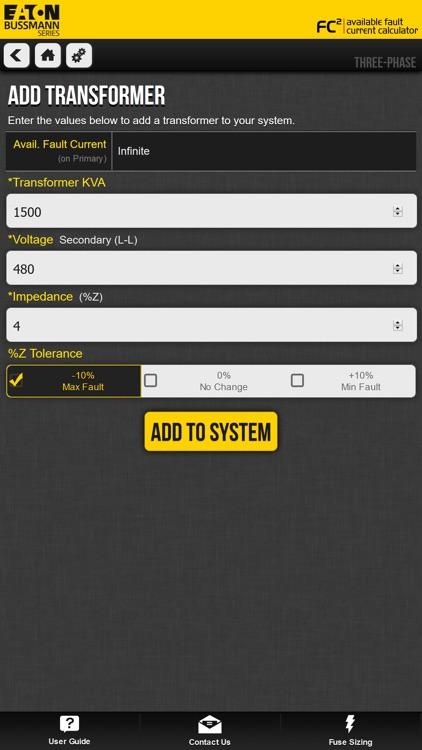 Fault Current Calculator screenshot-3