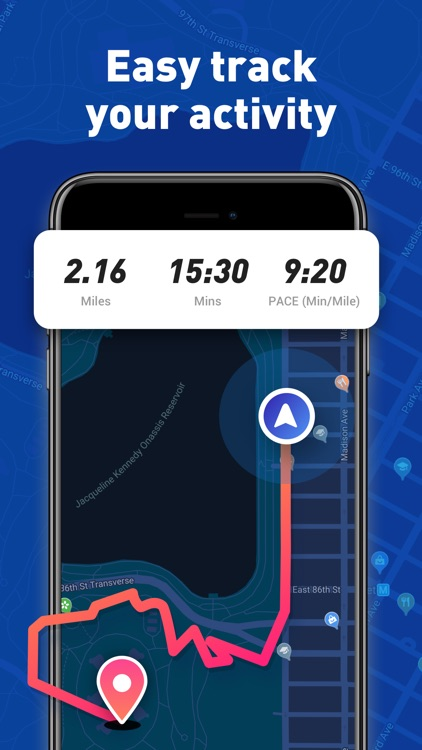 Running App - Map My Run