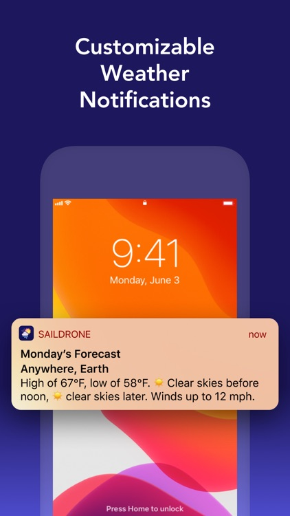 Weather: Saildrone Forecast screenshot-5