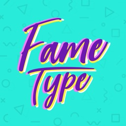 Fame Type Easy Text On Photo