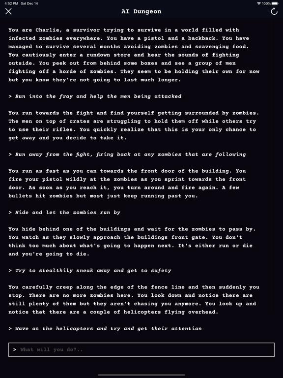 AI Dungeon screenshot 9