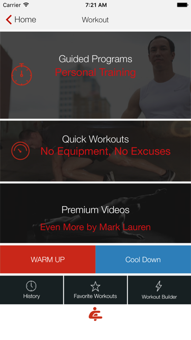 Screenshot for Bodyweight Training: Your Gym in Greece App Store