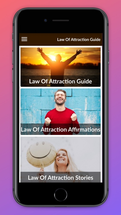 Law Of Attraction Guide. screenshot-6
