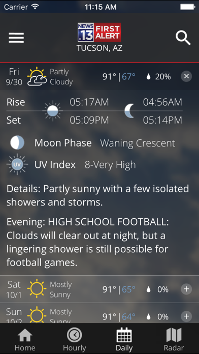 Kold First Alert Weather review screenshots