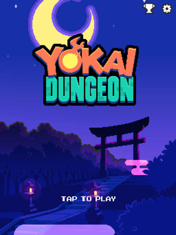 Игра Yokai Dungeon