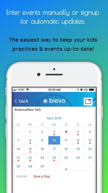 Bievo: Planner for your family screenshot-3