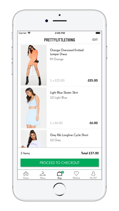 Screenshot for PrettyLittleThing in United States App Store