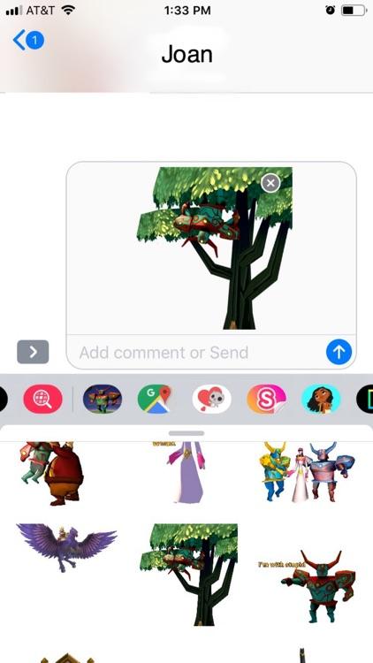 Roterra Game Emoji Stickers screenshot-4