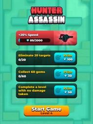 Hunter Assassin ipad images