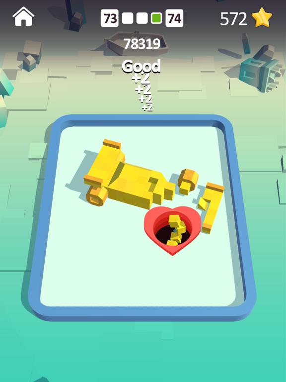 Shooting Hole - Collect Cubes screenshot 7