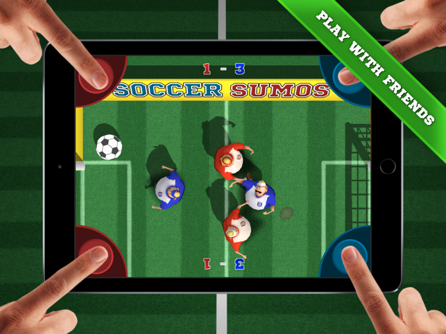 ‎Soccer Sumos - party game! Screenshot