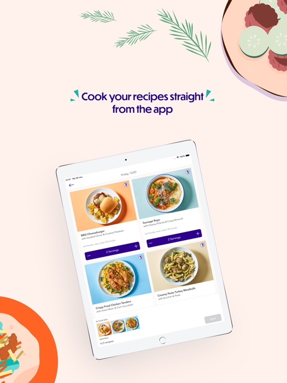 Dinnerly: Meal Kit screenshot