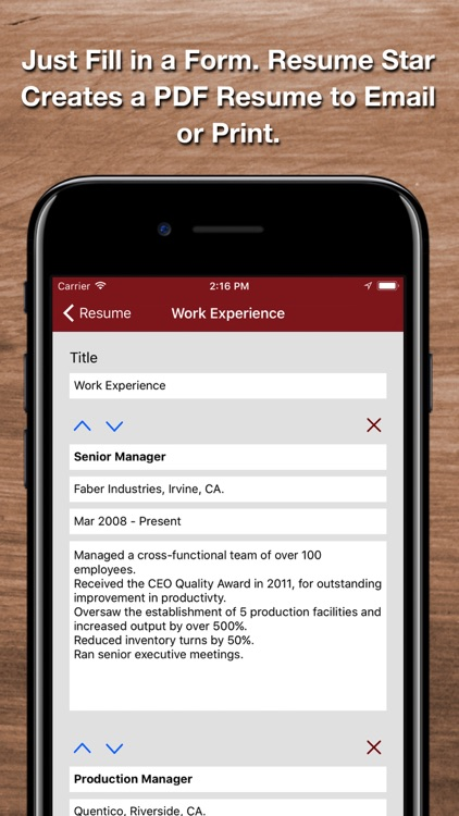 Resume Star 2: Pro CV Designer