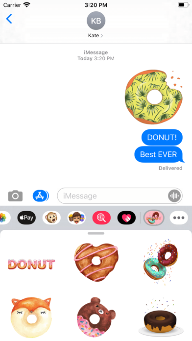 Donuts Deluxe Stickers screenshot 1