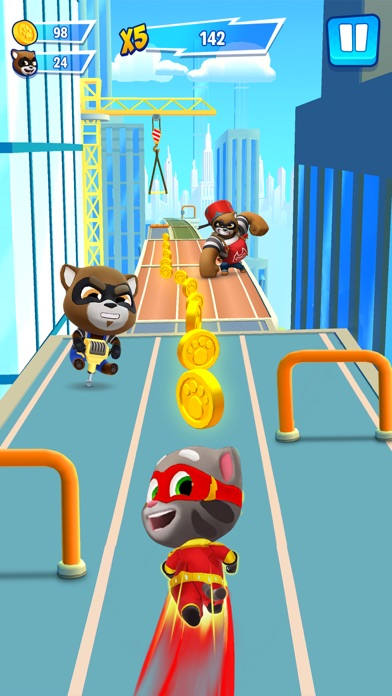 Talking Tom Hero Dash Run Game app image