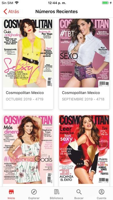 Screenshot for Cosmopolitan México in Peru App Store