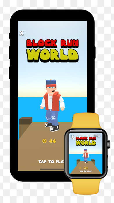 Block Run World screenshot 1
