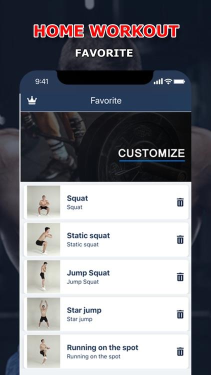 Home Fitness Workout Pro screenshot-3