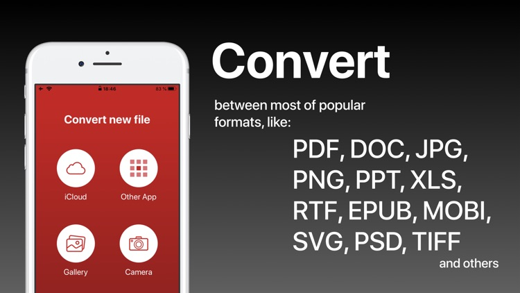 PDF Converter - Word to PDF screenshot-0