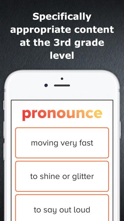 3rd Grade Vocabulary Challenge screenshot-3