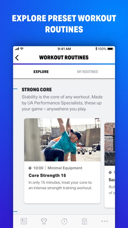 Map My Fitness by Under Armour