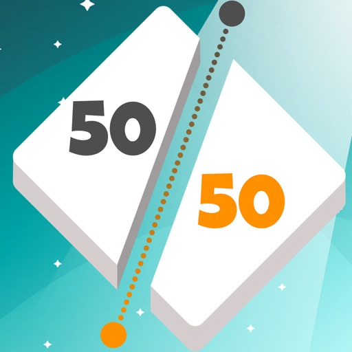 50 50: Addictive Shape Cutting