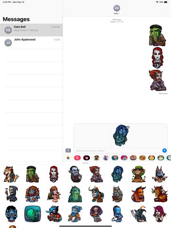 Myths and Legends Stickers screenshot 5