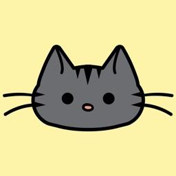 Gray Tabby Cat Stickers