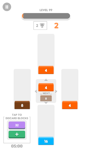 Brick Merge 2D screenshot 2
