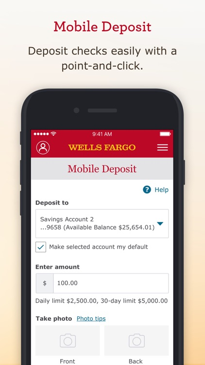 Wells Fargo Mobile screenshot-5