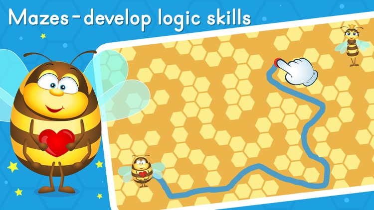 Preschool learning games - Bee screenshot-2