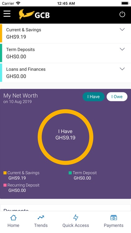 GCB Mobile Banking screenshot-1