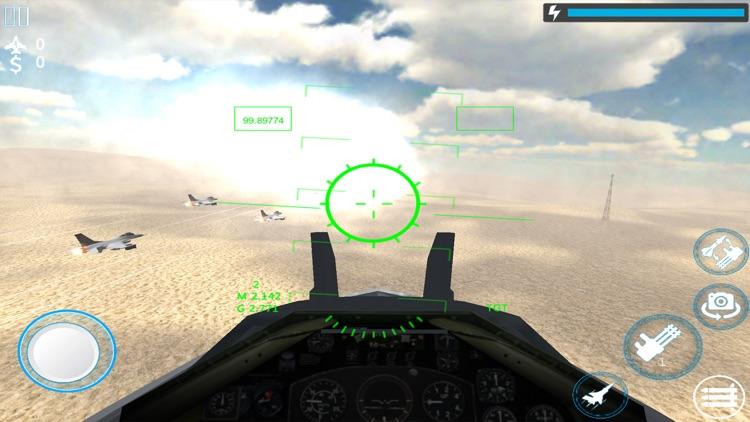 Jet Fighter Air Strike 3d screenshot-6