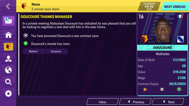 Football Manager 2020 Mobile screenshot-5