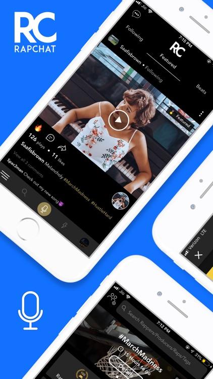 Rapchat — Rap Music Studio screenshot-0