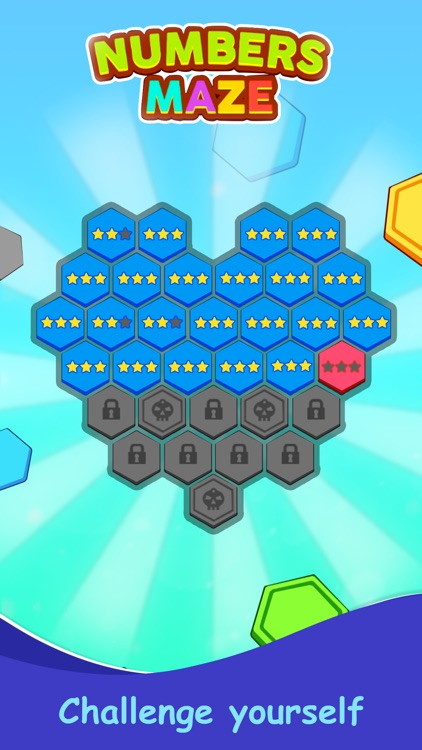 Numbers Maze Puzzle screenshot-6