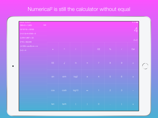 Numerical: The Calculator Without Equal screenshot