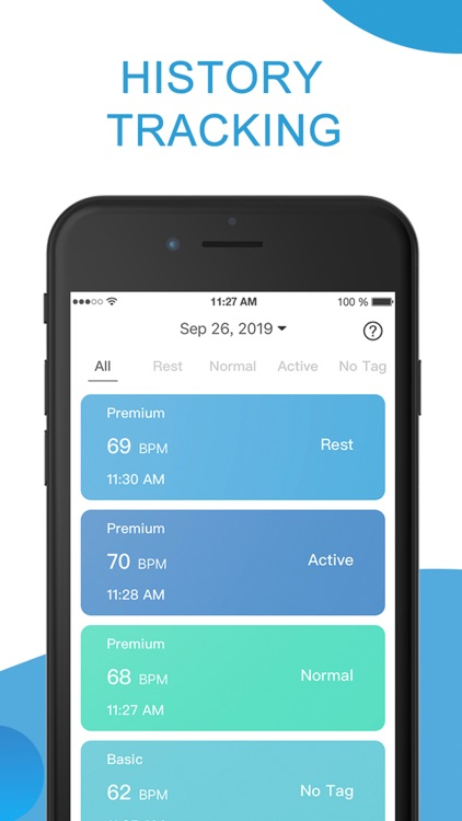 Heart Rate Monitor, Health App screenshot-4