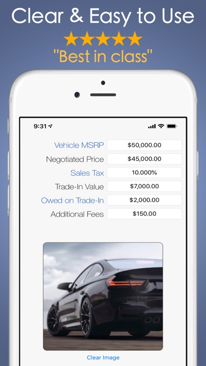 Car Payment Calculator Mobile