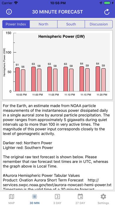 Aurora Forecast & Alerts screenshot 2