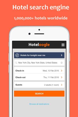 Hoteloogle - náhled