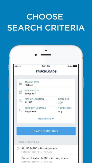 Truckloads - Truck Load Boards Screenshot