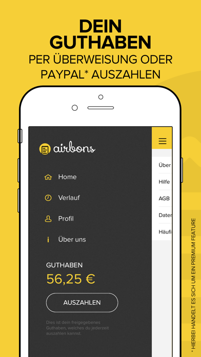 Screenshot for airbons - Geld verdienen in Germany App Store