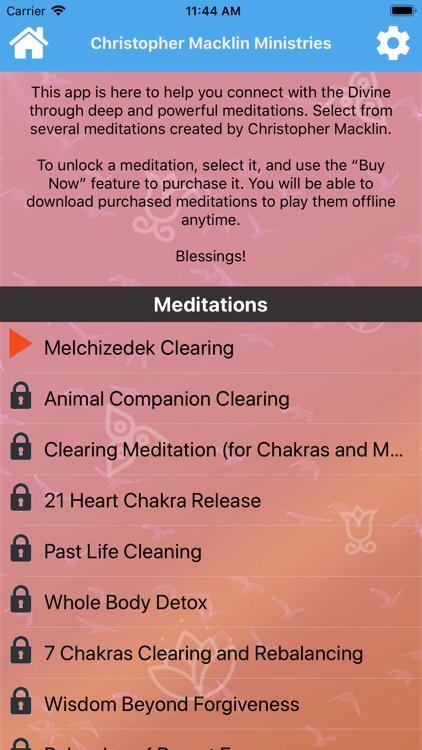 Meditation Christopher Macklin