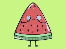 watermelon say stickers