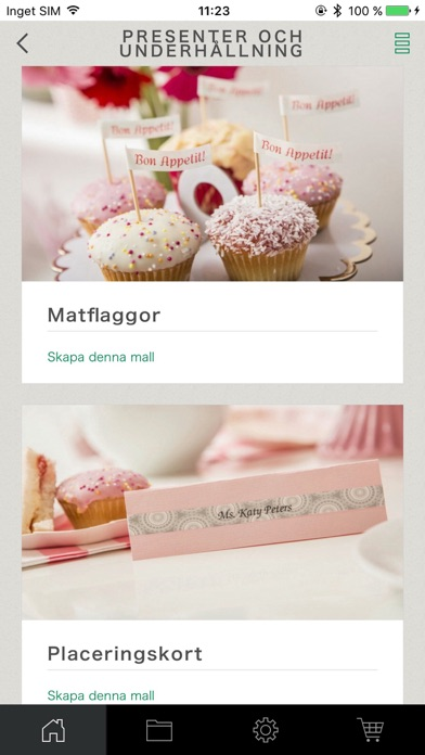 Screenshot for Brother P-touch Design&Print in Sweden App Store