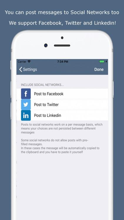 Easy Message - Group Bulk Text screenshot-3