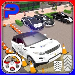 Super Police Car Parking 3D