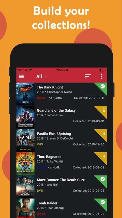 Cinetrak - Movie and TV guide screenshot-6